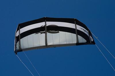 Kite Boarding Lake Michigan 09-29-12
