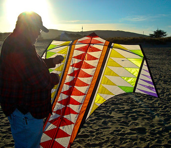 The end of a perfect afternoon of perfect kite flying with my perfect husband. Too much perfect.... not a chance!  Being able to recognize when Life is Grand and Truly Appreciating it when it is happening is Magical. Savor the Perfect Moments in Life.