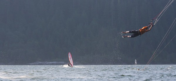 Nitinaht Canada Windfest Kiteboarding Competition