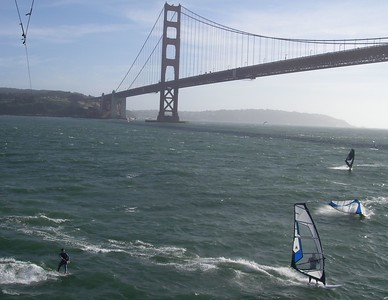 windsurfers tremble and fall off their boards when they see me coming.