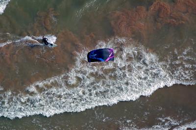Windsurfing Lake Michigan...in March 2012