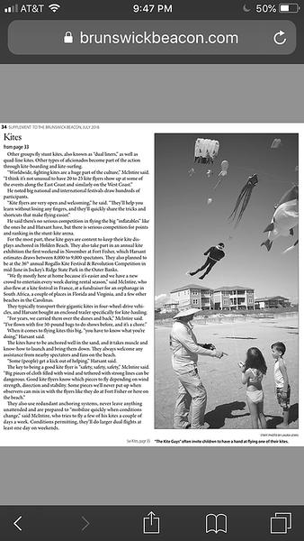 Island Living Article