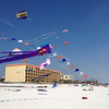 Ft. Walton Beach, Kitty Hawk Kite festival weekend before Easter.