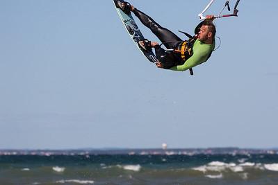 Kitesurfing juni 2014