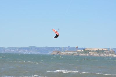 Crissy Field Kitesurfing 4-30-2010
