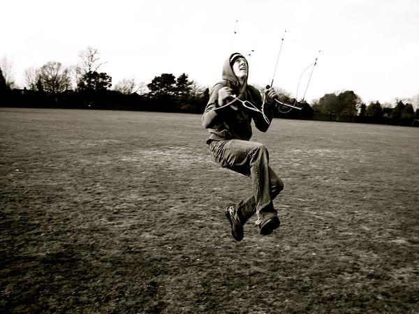 Realizing the fun behind kites...