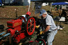 Kitsap Tractor Club's exhibit had multiple tractors and a hit and miss engine that was a hit (pun intended) with Fair goers.