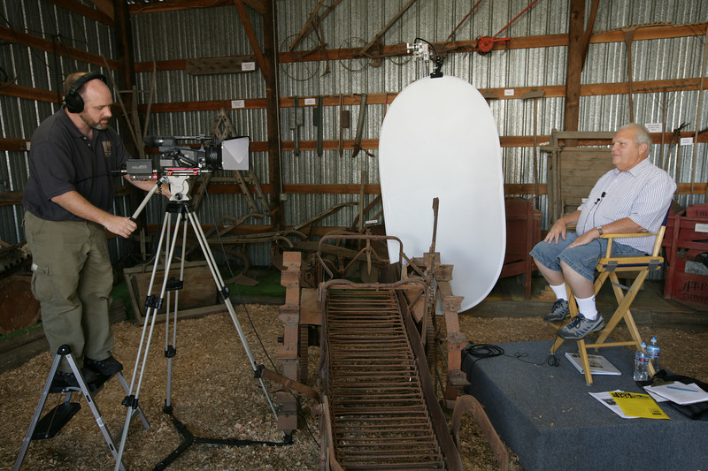 Chris Davenport begins filming Kitsap oral histories.
