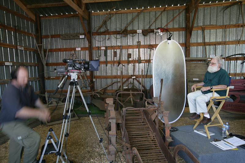 Chris Davenport, a professional filmaker, volunteered his time to film Kitsap Oral Histories.
