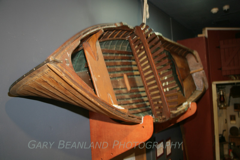 Grandy built, lapstrake boat