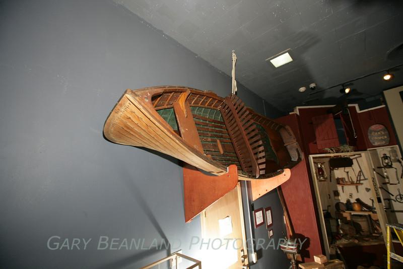 Grandy-built lapstrake boat