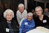 Alice Fellows Lawson, Kay Adams, Nedra Wagner and Toby Warren