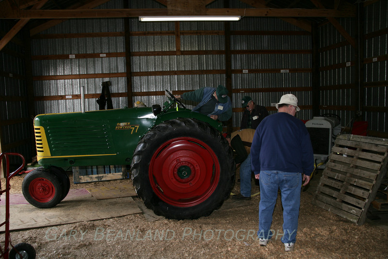 Now to move the Fordson Tractor.
