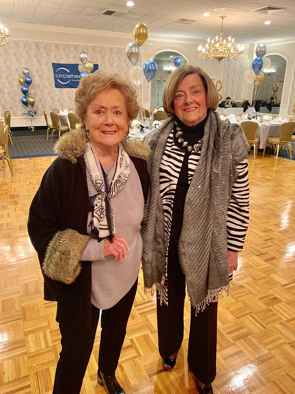 . Lorraine Liva of Tyngsboro and Mary Lou Murphy of Chelmsford