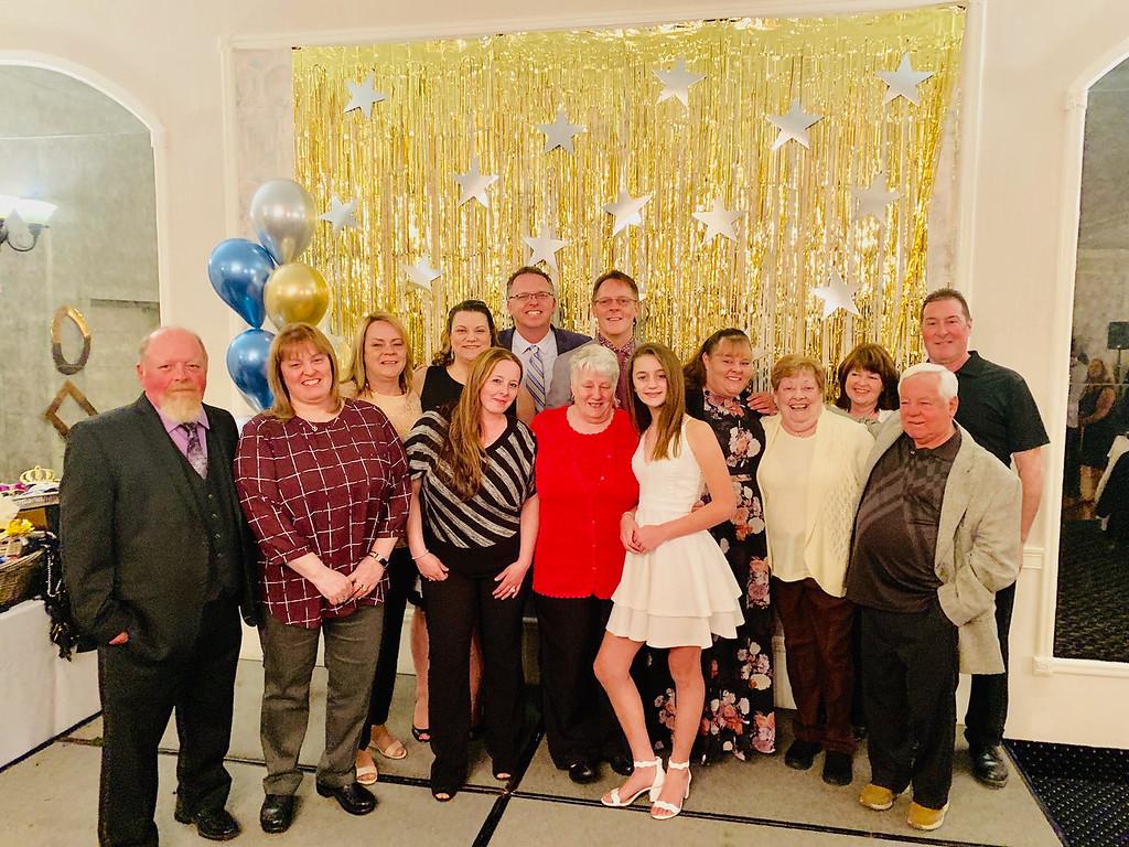 . Honoree Robert Skirvin-Orr family