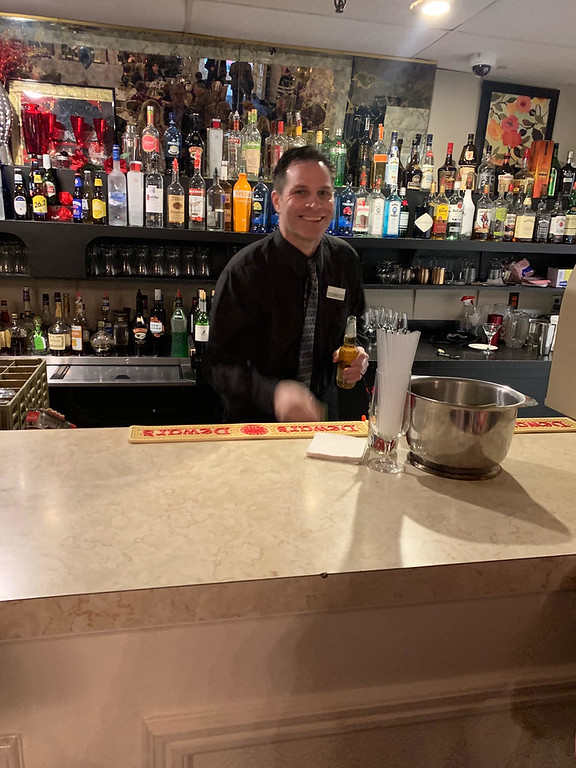 . Mixologist Kenny Fleming of Lowell