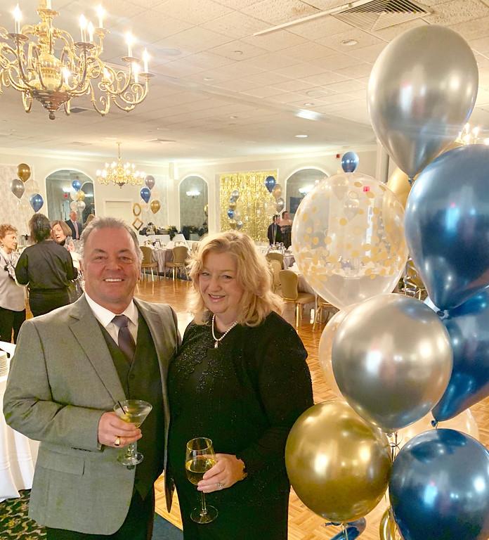 . Kiwanis member, Robert and Caroline Howard of Lowell