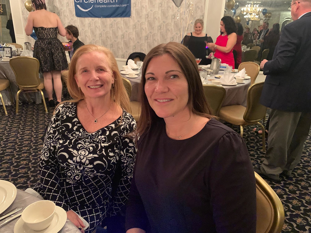 . MaryBeth Murphy of Haverhill and Kim Spencer of Burlington