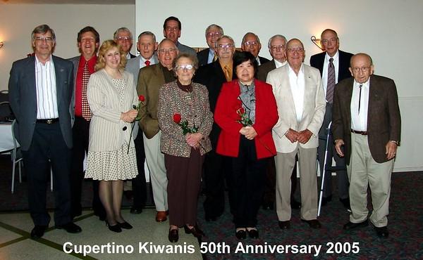 Cupertino Kiwanis Club 50th  Anniversary  Party