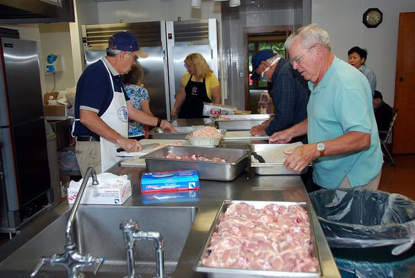 Cupertino Kiwanis Senior Lunch 2008