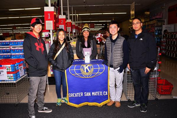 Shopping Trip  Kiwanis Club of Greater San Mateo  12 12 2015