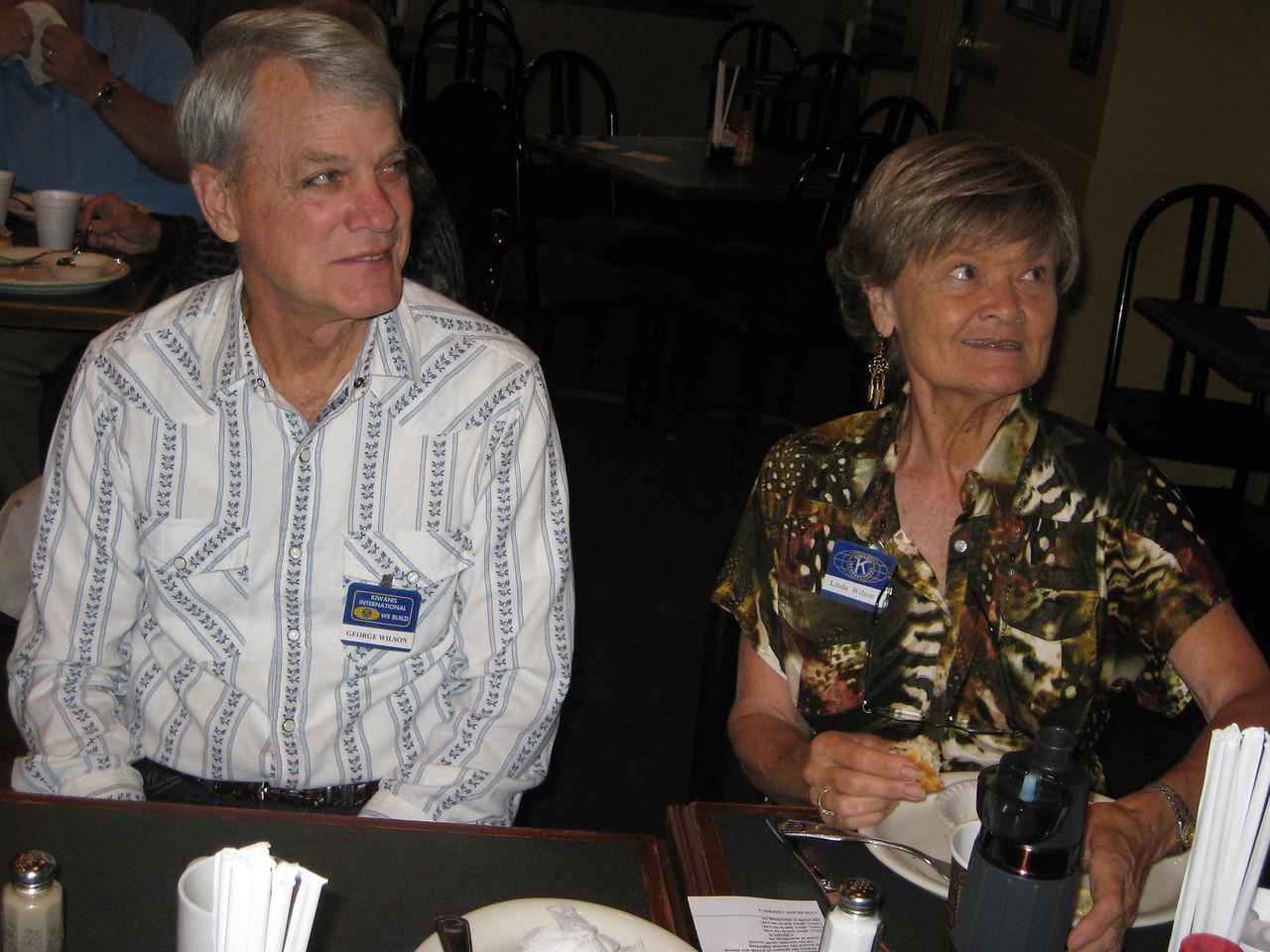 George & Linda Wilson