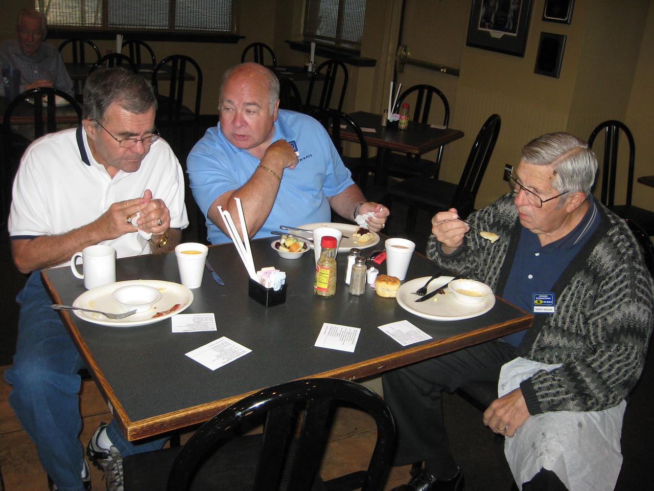 Randy Johnson, Bruce Buehler, Barry Gruver