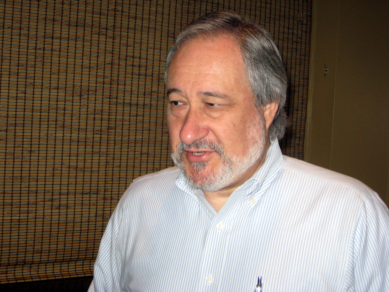Club Secretary, Mike Winstead
