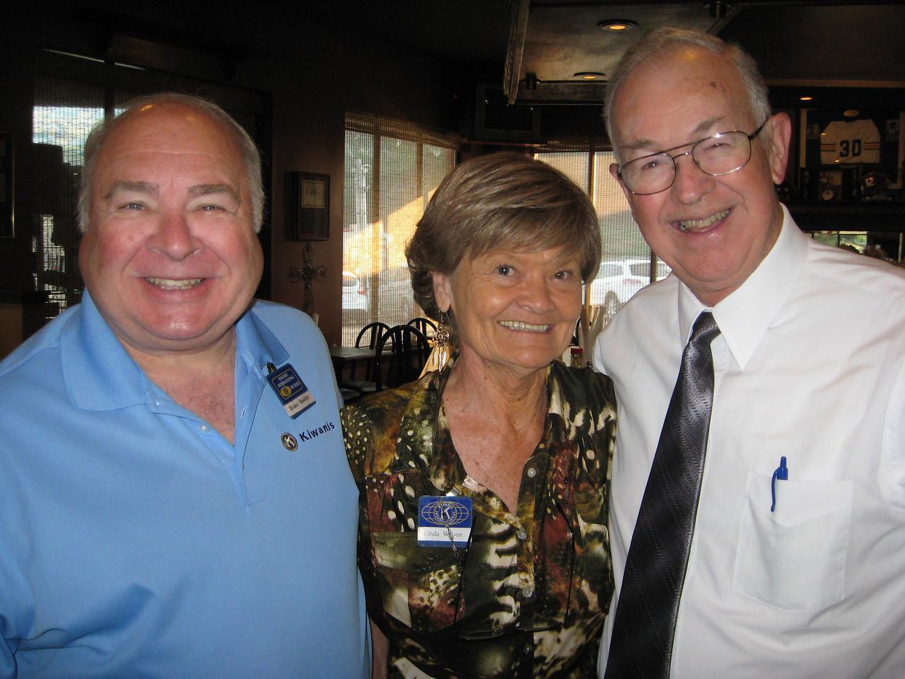 Bruce Buehler, Linda Wilson, John Burch