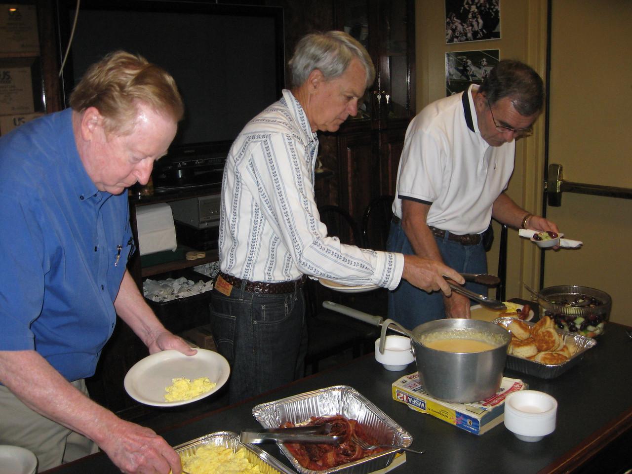 Dan Younger, George Wilson, Randy Johnson