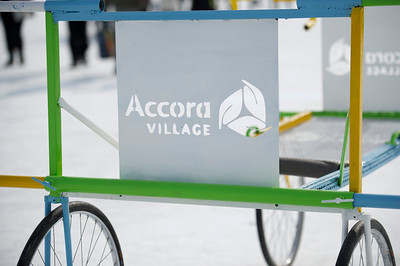 Accora Village Bed Race for Kiwanis - Marie Dionne