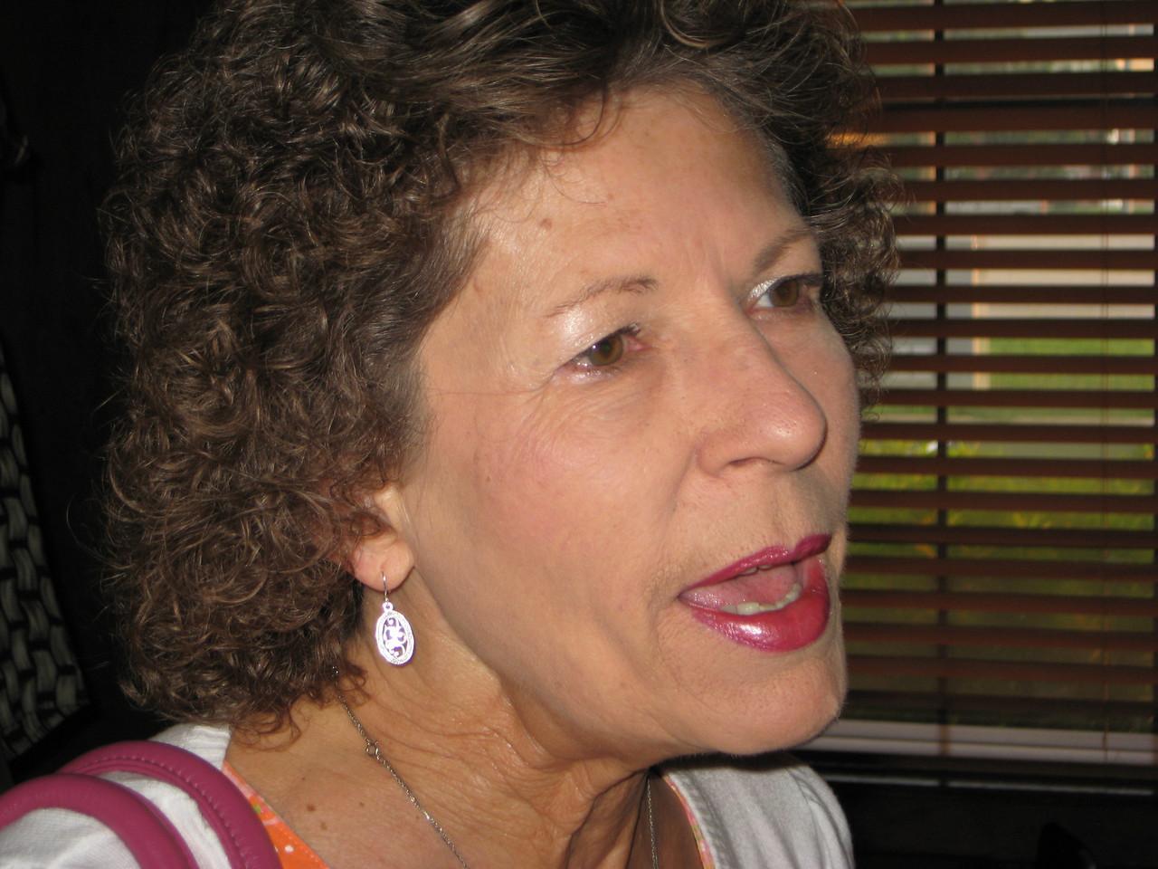 Guest of John Burch, Mrs. Gloria Brown