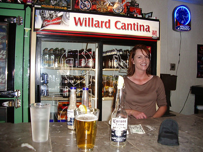 Shelly at the Willard Cantina, nearly the perfect bar maid but she hadnt even heard of Speights.