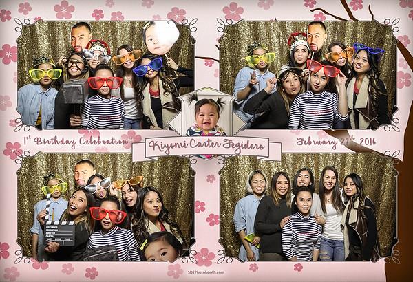 Kiyomi Carter Fegidero Birthday Party (2016/02/27)
