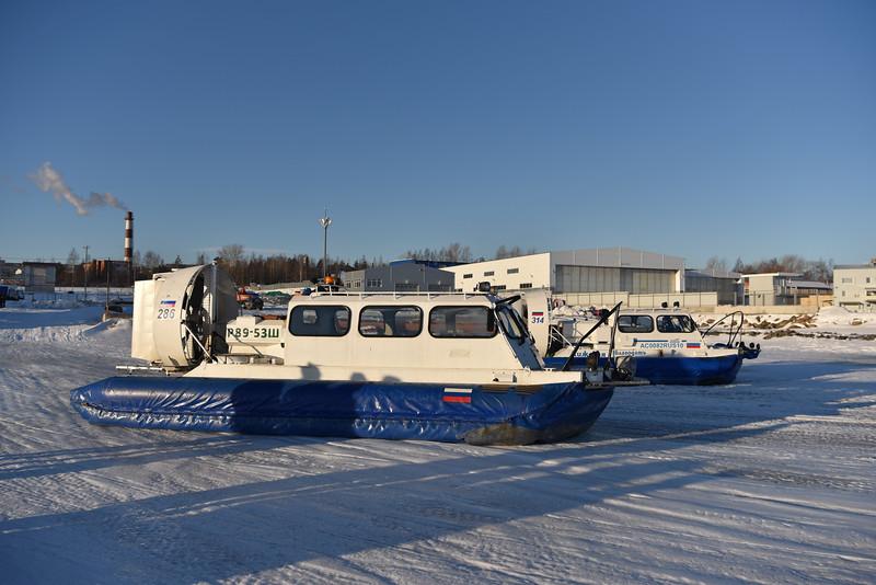 Petrozavodsk - Hovercrafts