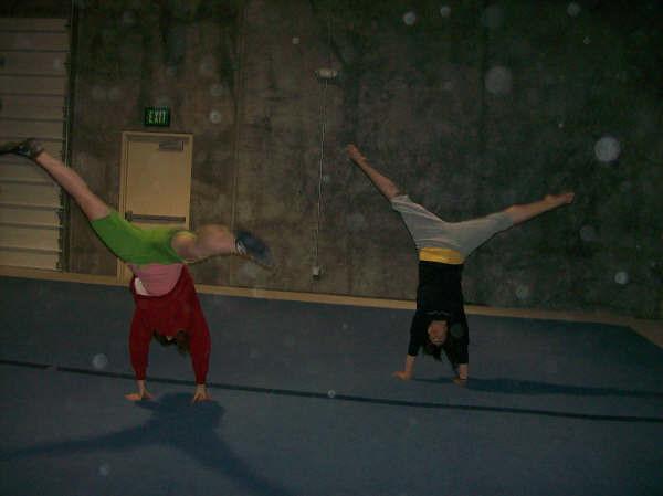 Kjersti Barnes - Olympus Gymnastics, Utah - April 2008