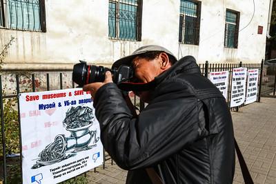 БСШУС-ын сайд Ё.Баатарбилэг Байгалийн түүхийн музейн барилга дээр ажиллав