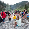 Evening campfire meeting on the banks of the Klamath River. (Ben Lehman - Contributed photo)