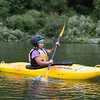 Chilean Alejandra Chodil, 15, learned how to swim and kayak on the trip down the Klamath River. (Weston Boyles - Contributed photo)