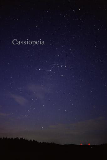 Souhvězdí Cassiopeia