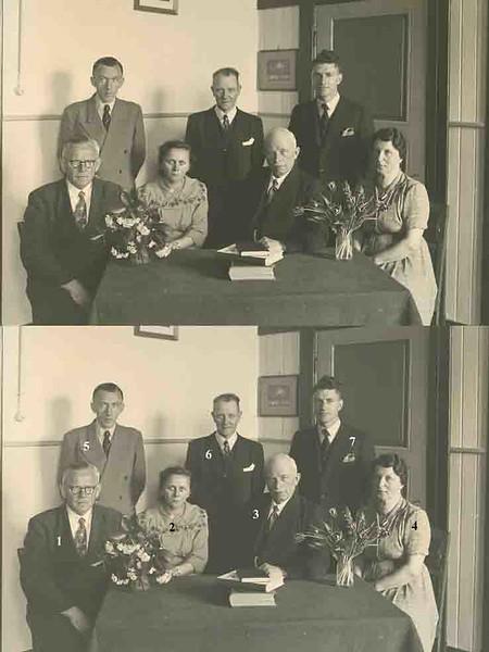 F0444i <br /> Twee albums met schoolfoto's (klassenfoto met leerkrachten) van klassen van De Visserschool. Enkele foto's met alle leerkrachten. De meeste foto's zijn genomen in de jaren '50. Enkele uit de jaren '25/'30. De school had toen de naam de School met den Bijbel.<br /> <br /> <br /> 01dhr. Roodberg<br /> 02mej. Provily<br /> 03dhr. J. Wiepkema<br /> 04mej. Kramer<br /> 05dhr. de Graaf<br /> 06dhr. Strik<br /> 07dhr. Miedema