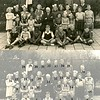 F0444o <br /> Twee albums met schoolfoto's (klassenfoto met leerkrachten) van klassen van De Visserschool. Enkele foto's met alle leerkrachten. De meeste foto's zijn genomen in de jaren '50. Enkele uit de jaren '25/'30. De school had toen de naam de School met den Bijbel.<br /> <br /> De buitenfoto's zijn genomen op het schoolplein van De Visserschool in 1951-1952. <br />  <br /> <br /> Klassenfoto 1952-1953<br /> 01 Eddy Schilpzand<br /> 02 Dick van Reenen<br /> 03 Sam van Polanen<br /> 04 Co van der Kwaak<br /> 05 Jan Pit<br /> 06 Henk van der Heiden<br /> 07 Dick Lugtigheid<br /> 08 Lottie van Loo<br /> 09 Rietje Batenburg<br /> 10 Nellie Staring<br /> 11 Rietje Roose<br /> 12 Ans Kuijpers<br /> 13 Gerda Knetsch<br /> 14 Alie Duiker<br /> 15 Wim van den Berg<br /> 16 Alie van Houwelingen<br /> 17 Grietje Benschop<br /> 18 Rieneke Snijders<br /> 19 Irene de Goede<br /> 20 Rietje Staring<br /> 21 Meneer Wiepkema<br /> 22 Roelie Vink<br /> 23 Gozine Vis<br /> 24 Gerda Boekee<br /> 25 Trix Westenengen<br /> 26 Mien van Nes<br /> 27 Piet Meijer<br /> 28 Wim Roos<br /> 29 ? Eisinga <br /> 30 <br /> 31 ? Tukker<br /> 32 ? Buijs<br /> 33 Sjoerd Postma<br /> 34 Jan van Egmond<br /> 35 Aad Vos<br /> 36 Meneer Strik