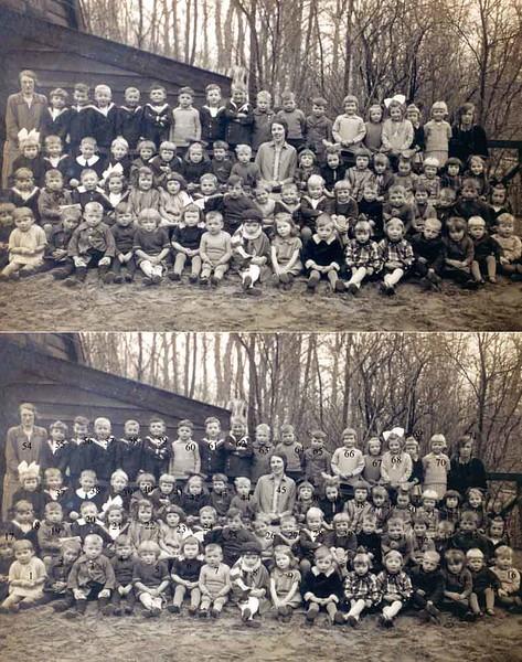 F0111 <br /> De Chr. Fröbelschool (kleuterschool) aan de Kerklaan in 1927-1928 met leerlingen en leerkrachten.<br /> <br /> 01Jannie Nicola<br /> 02Joppie Beij<br /> 03Aafje van Biezen<br /> 04Mannes Zonnebeld<br /> 05Klaas Smit<br /> 06Nellie Overvliet<br /> 07Arendje van Egmond<br /> 08Jan Perfors<br /> 09Ini Oudshoorn<br /> 10Jopie Pracht<br /> 11<br /> 12Annie Smit<br /> 13Wim Smit<br /> 14Maartje van Nieuwkoop<br /> 15Henk Potman<br /> 16Fok Moolenaar Wzn.<br /> 17Jan van Nieuwkoop<br /> 18Kees Vliem<br /> 19Jaap Wilbrink<br /> 20Rika Broer<br /> 21Gerda Engberts<br /> 22Lenie Beij<br /> 23<br /> 24Wim Honders<br /> 25Annie van Helden<br /> 26Jaap van Nieuwkoop<br /> 27Jan van Egmond<br /> 28Meindert Potman<br /> 29Ali Bergman<br /> 30Kees van Goeverden<br /> 31Floor Hogewoning<br /> 32Kaatje van Ginhoven<br /> 33Cor Vonk<br /> 34Dirk van Klaveren<br /> 35Hils Bruinsma<br /> 36Corrie Moolenaar<br /> 37Karel van Tol<br /> 38Aart Vliem<br /> 39Bije Voorsluys<br /> 40Nellie van Tol<br /> 41Bep van Biezen<br /> 42Jannie Smit<br /> 43Maatje Smit<br /> 44Leida Aangeenbrug<br /> 45jufr. Knoppert<br /> 46Juul Perfors<br /> 47Arendje Kuijt<br /> 48Janie Plagmeijer<br /> 49Triena Bosma<br /> 50Geertrui den Hoed<br /> 51Alie Potman<br /> 52Lien Nicola<br /> 53Lena Pracht<br /> 54jufr. Voorsluys<br /> 55Joop Smit<br /> 56Fok Moolenaar Gzn.<br /> 57Herman de Wreede <br /> 58Cor de Jong<br /> 59Cor van Egmond<br /> 60Adri van Hoorn<br /> 61Bert Wilbrink<br /> 62Piet Sluijmer<br /> 63Adriaan van Breda<br /> 64Albert Hogewoning<br /> 65Ab Winkel<br /> 66Jo Couvee<br /> 67Riet Faas<br /> 68Annie Durieux<br /> 69Lena Both<br /> 70Maartje Overvliet<br /> 71jufr. Annie Meyer