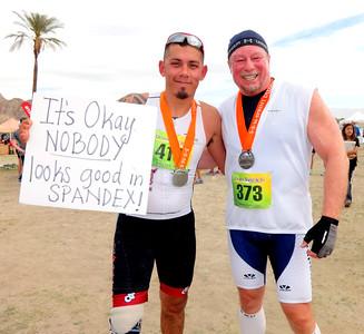 Klein Clark Desert Triathlon-Duathlon, Lake Cahuilla-La Quinta CA March 5-6, 2016