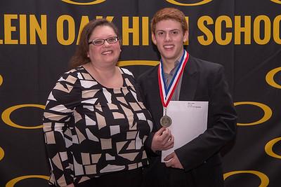 Honor Grads w/ Parents - Part 2