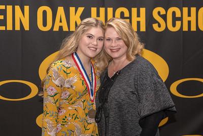 Honor Grads w/ Parents - Part1