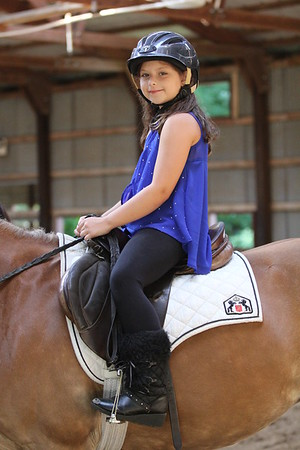 2015-08-07 Cassidy riding Horse 027