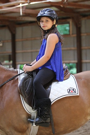 2015-08-07 Cassidy riding Horse 026