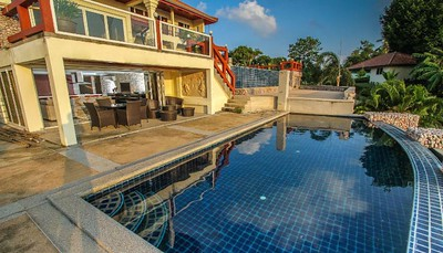 Serena two bedroom apartment swimming pool, Klong Khong, Ko Lanta
