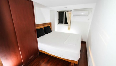 Serena two bedroom apartment bedroom, Klong Khong, Ko Lanta